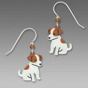 Sienna Sky Jack Russell Terrier Earrings