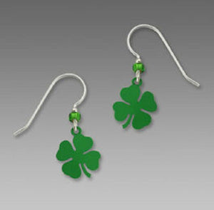 Sienna Sky Shamrock Clover Earrings