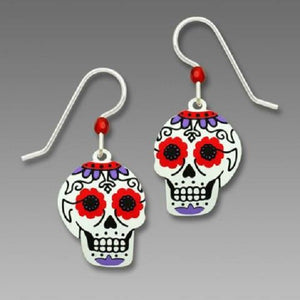 Sienna Sky Sugar Skull Earrings