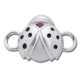 Le Stage Clasp, Ladybug with Garnet