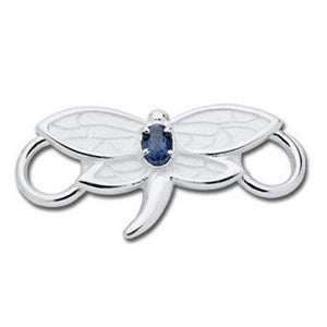Le Stage Clasp, Dragonfly with Iolite