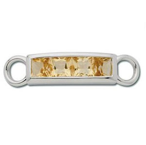 Le Stage Clasp, 4 of a Kind - Citrine