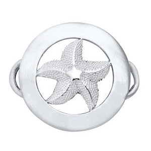 Le Stage Clasp, Starfish in Circle