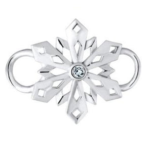 Le Stage Clasp, Pierced Snowflake