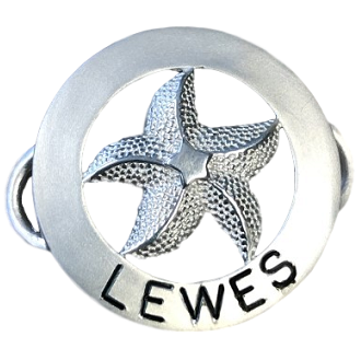 Le Stage Clasp, Starfish in Circle - Lewes