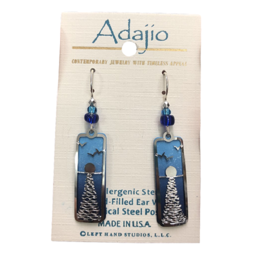 Adajio Blue Pine Sunset Earrings