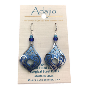 Adajio Swirly Lantern Earrings