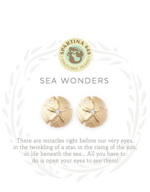 SEA LA VIE SEA WONDERS STUD EARRINGS