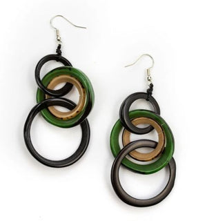 Tagua Yazmine Earrings