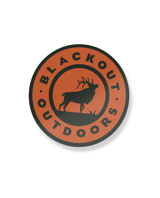 Blackout Outdoors Logo Sticker