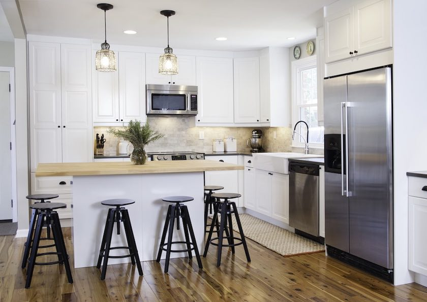Shop IKEA® Kitchen remodel design by ModerNash in Nashville