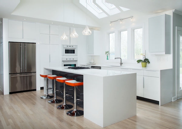 Modern kitchen remodel by Nashville designers