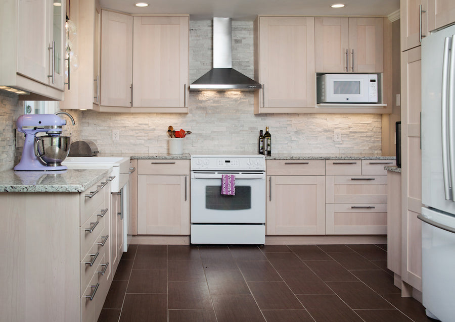 Kitchen remodel testimonial by Moderash customer