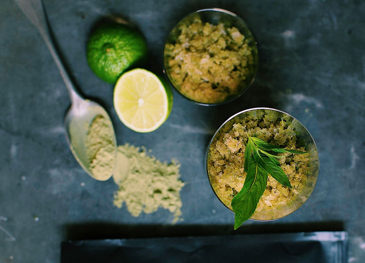 A Green Granita for Good Gut Health