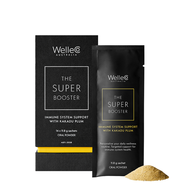WelleCo Super Booster Immune System Support with Kakadu Plum Set