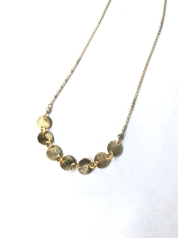 Agatha - classic circle necklace