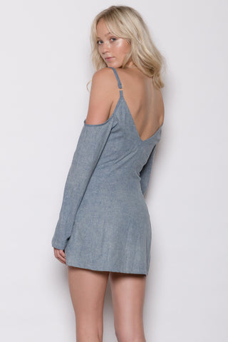 Whirlwind Denim Dress