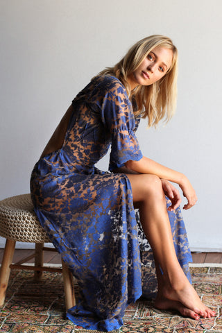 Blue Monday Lace Dress