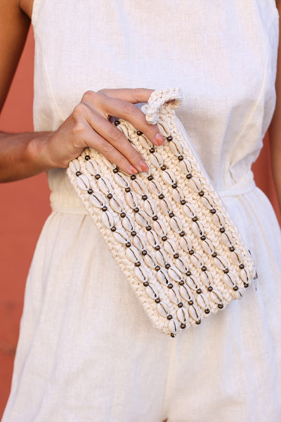 Lombok Cowrie Clutch