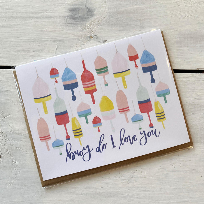 Greeting Card, Buoy, Do I Love You