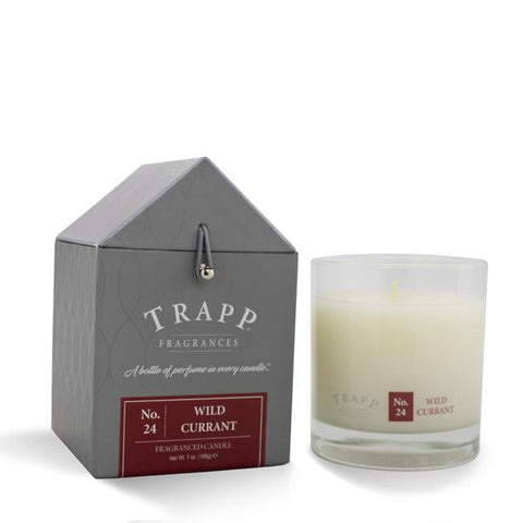 Trapp Candle, Large Poured Wild Currant