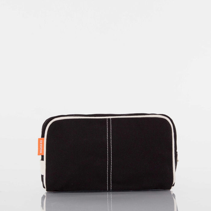 Dopp Kit, Black Canvas