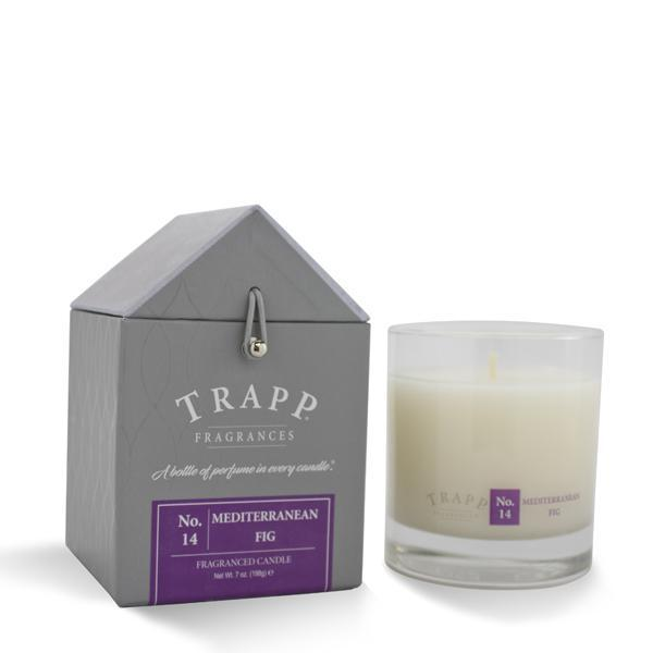 Trapp Candle, Large Poured Mediterranean Fig