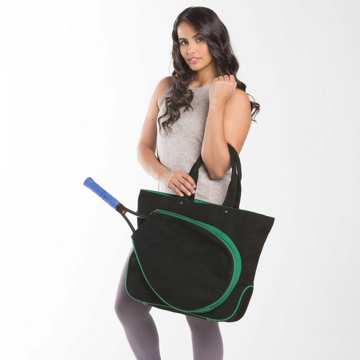 Tennis Tot, Black & Emerald