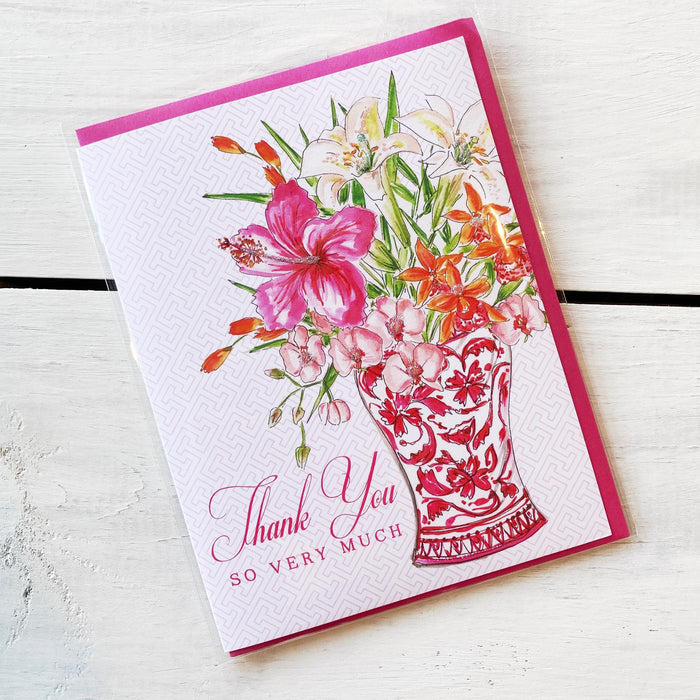 Greeting Card, Thank You So Very Much