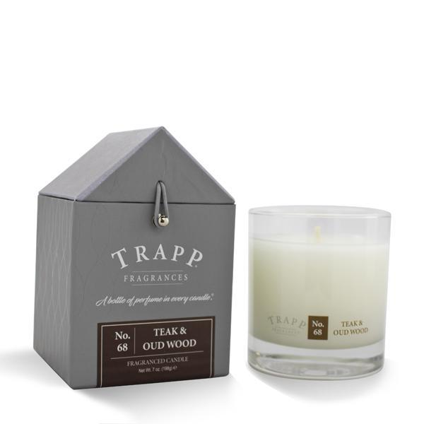 Trapp Teak and Oud Candle