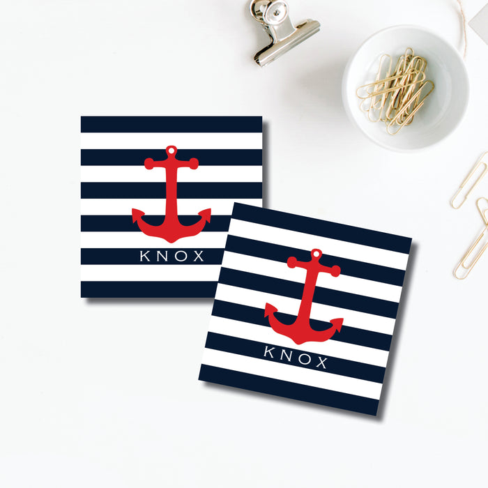 Gift Sticker, Anchor