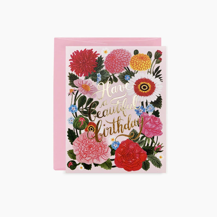 Greeting Card, Beautiful Birthday