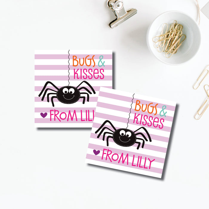 Halloween Sticker, Bugs & Kisses