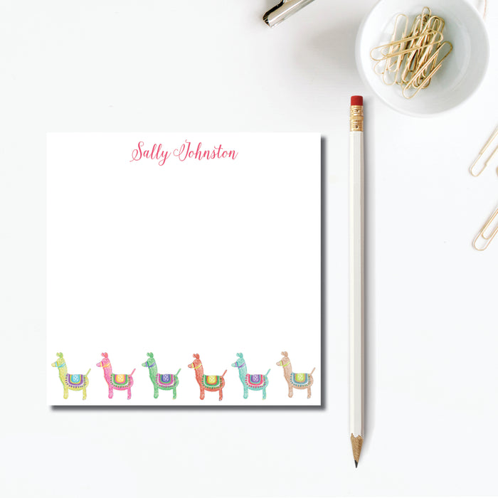 Notepad, Lots of Llamas