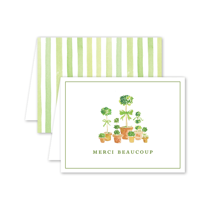 Greeting Card, French Topiary