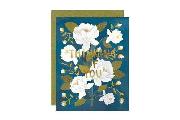 Greeting Card, Raleigh Floral Friendship