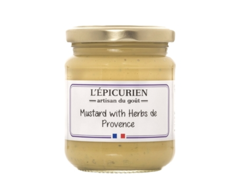 L'Epicurien Mustard with Herbs de Provence