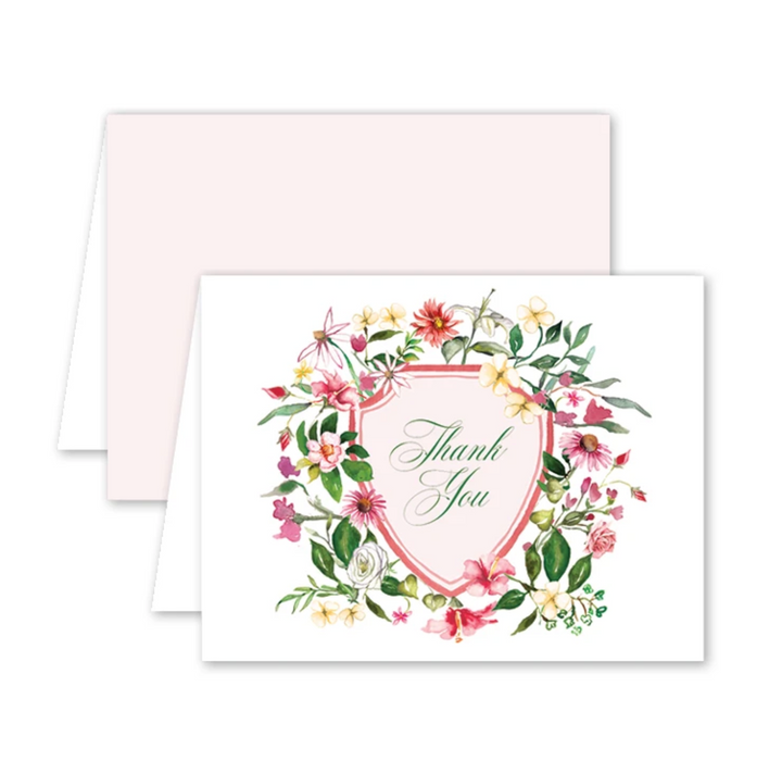 Spring Flowers Thank You Notes