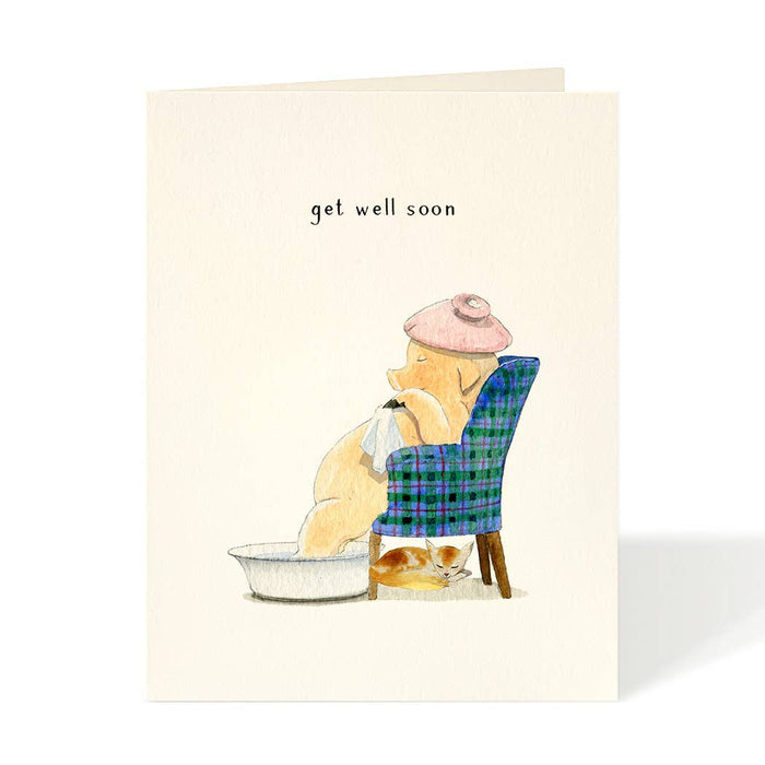 Greeting Card, Sick Day