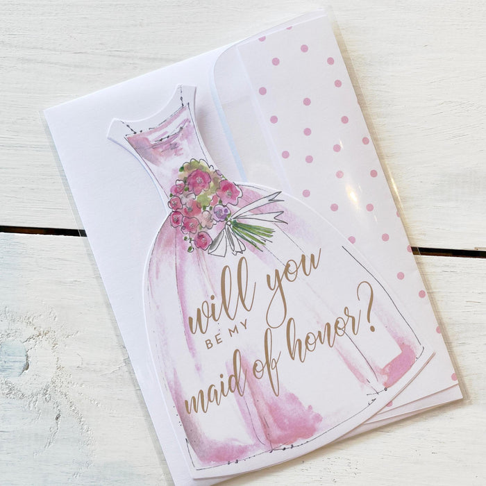 Greeting Card, Will You Be My Maid of Honor?