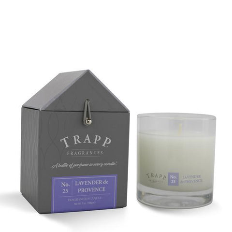 Trapp Candle, Large Poured Lavender de Provence