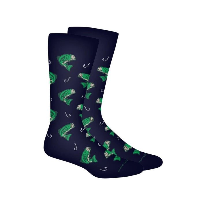Hooked Bass Mens Socks