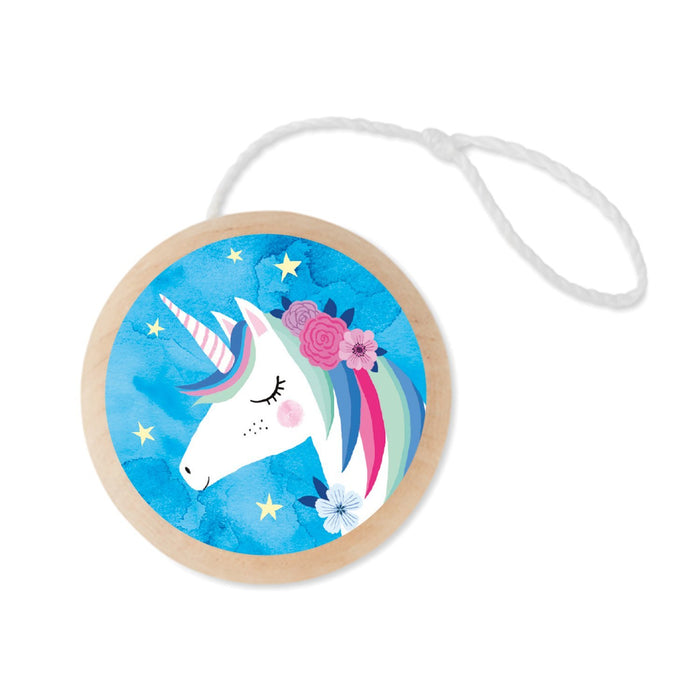 Unicorn Wooden Yo Yo