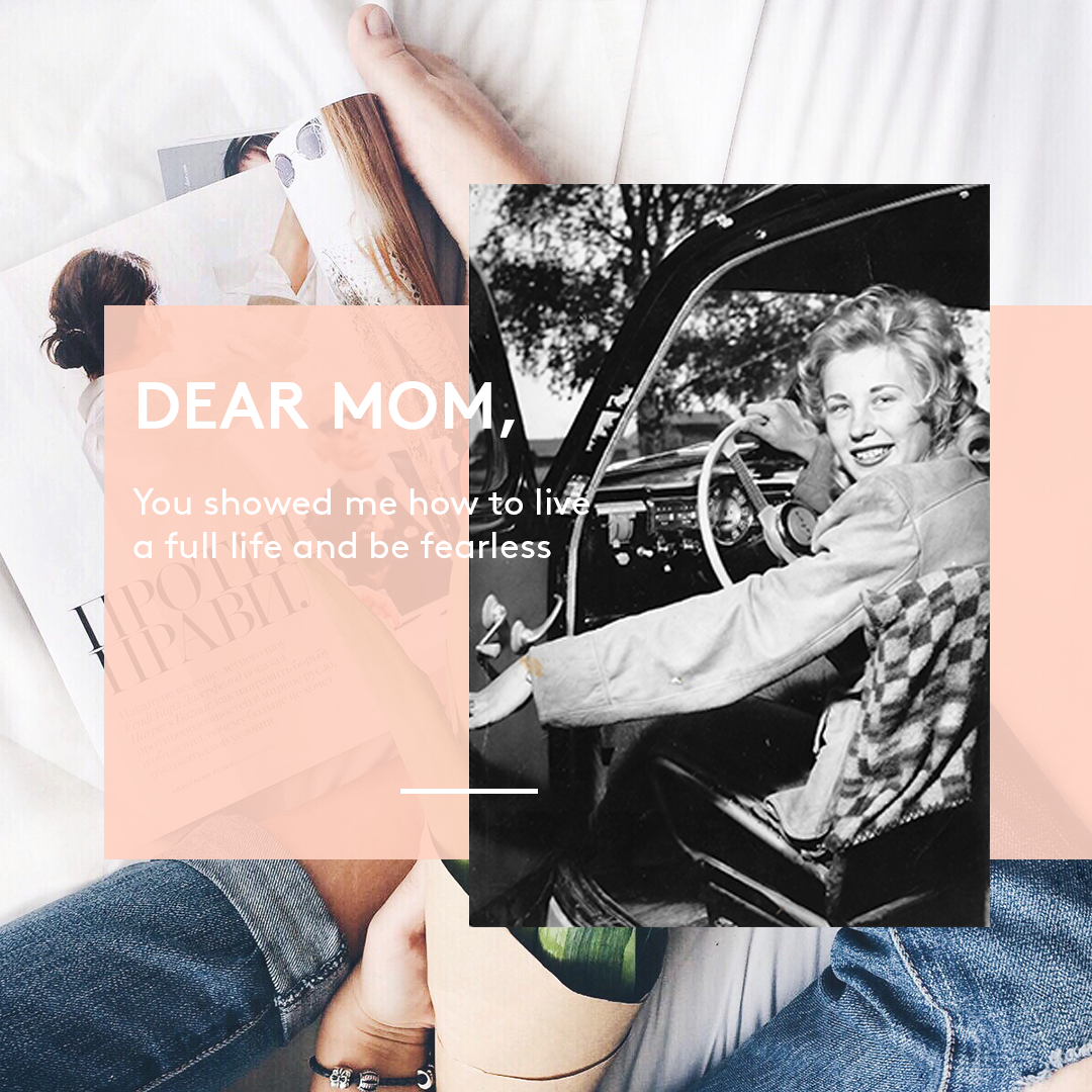 A letter from our founder to her mom