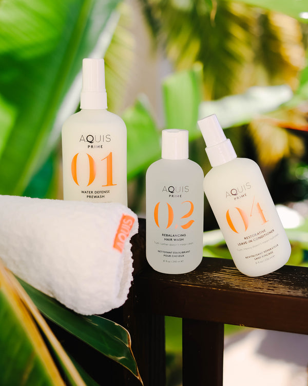 3 Ways to Conserve Water and Protect Your Hair by Showering with AQUIS