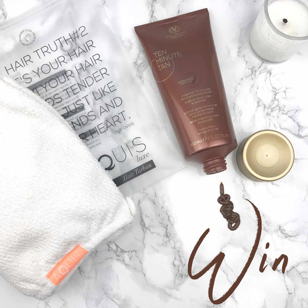 Low-Maintenance Beauty with AQUIS and Vita Liberata