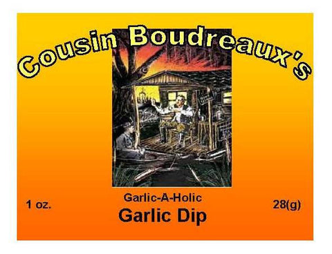 Cousin Boudreaux's Cajun Garlic Dip Mix