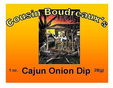 Cousin Boudreaux's Cajun Onion Dip Mix