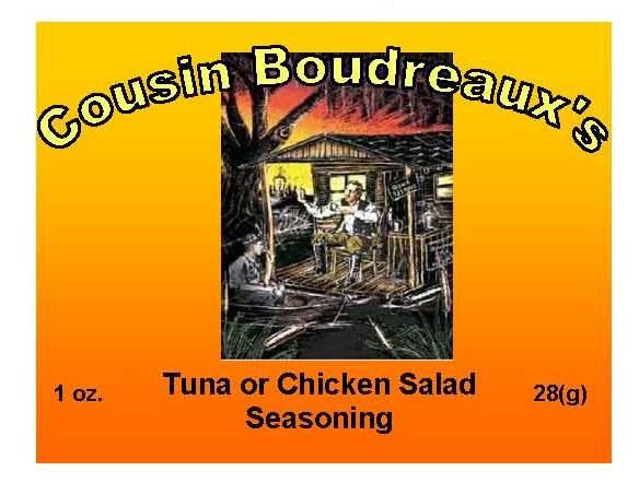 Cousin Boudreaux's Tuna / Chicken Salad Seasoning - Cousin Boudreaux's - 1