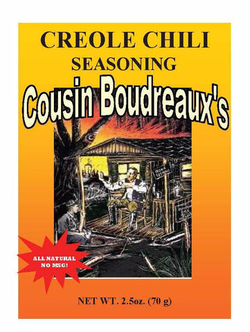 Cousin Boudreaux Creole Chili Mix
